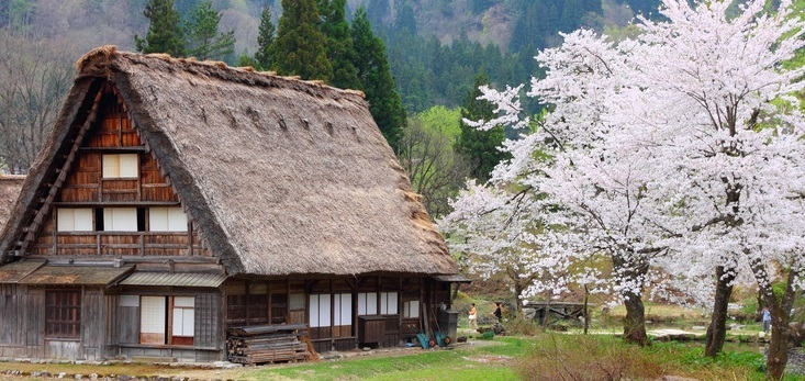 Thatched House in Shirakawa-Go