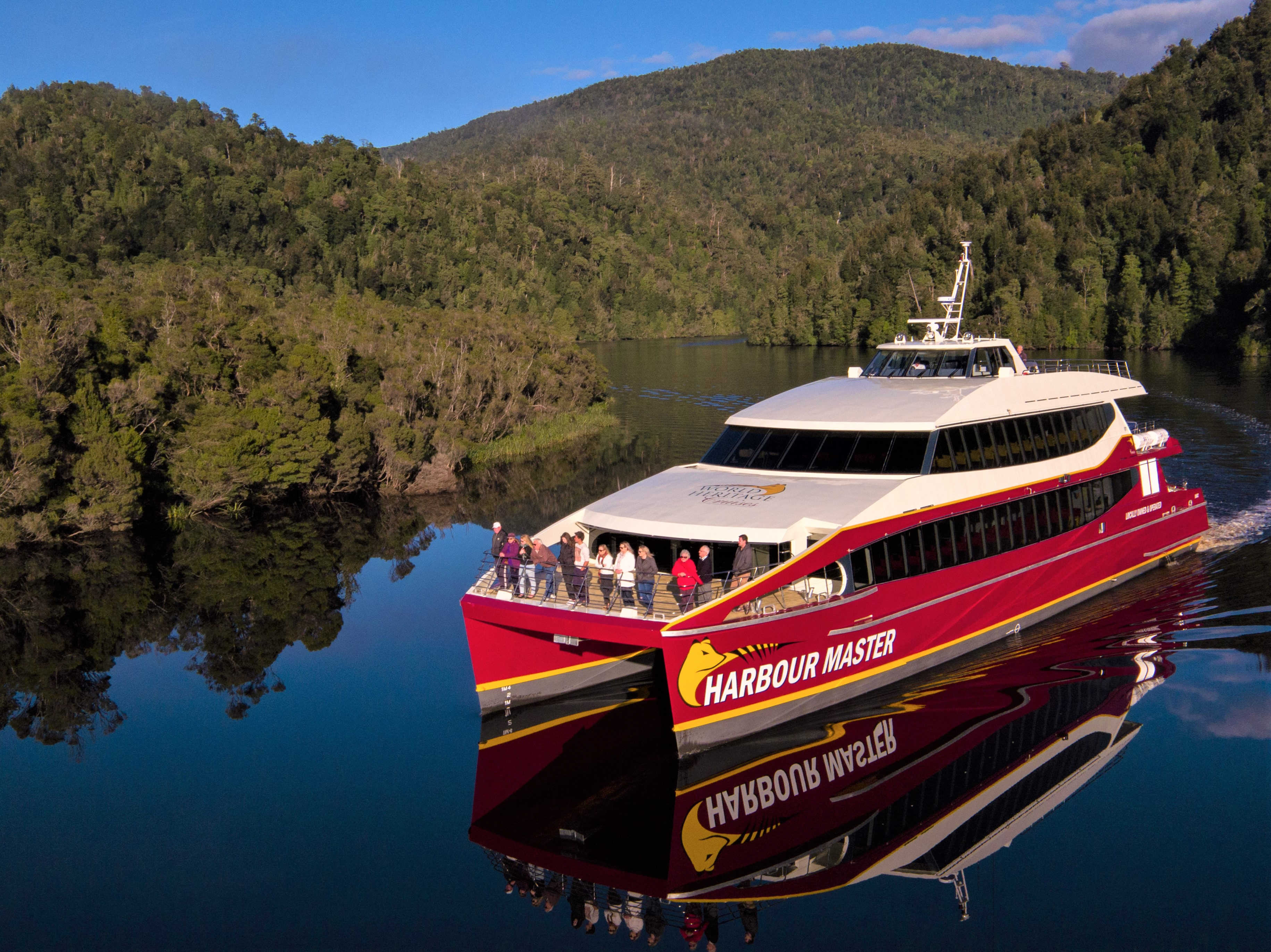 Gordon River, credit - Courtesy of World Heritage Cruises