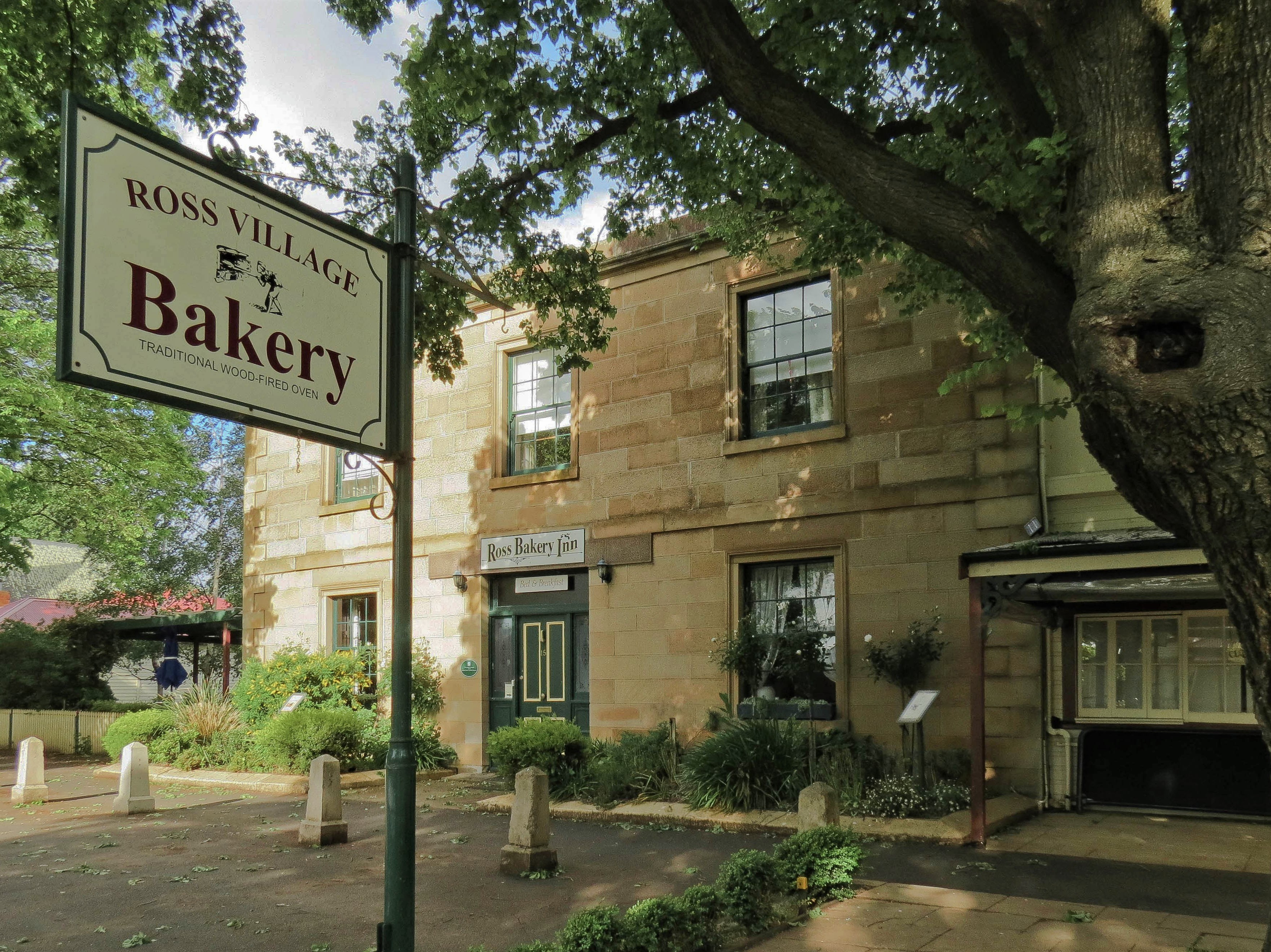 Ross Bakery Inn, Ross, credit - Tourism Tasmania & Kathryn Leahy
